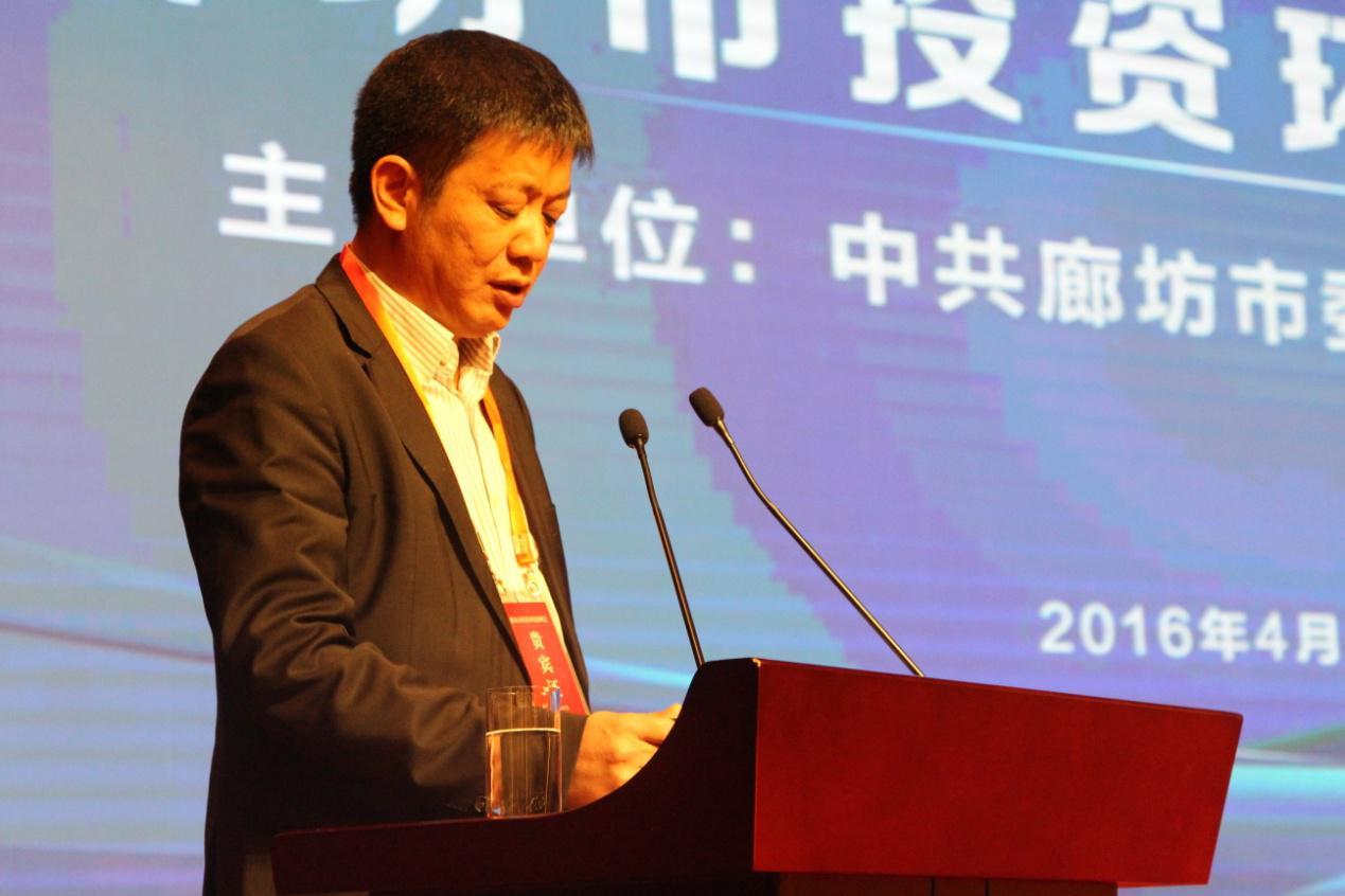 河北省福建商会会长叶少华发表了热情洋溢的讲话.图片